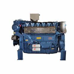 Продажа горячей воды для охлаждения морской внутренний дизельный двигатель с непосредственным впрыском цилиндра 176-3686 квт