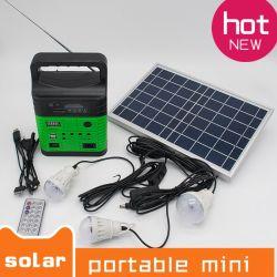 Illuminazione dell'interno solare radiofonica solare della più nuova 10W lampada solare FM 3790 indicatori luminosi globali di alba