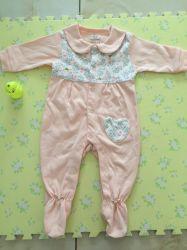 Vêtements de bébé nouveau-né 2 Romper Coton Couleur Bébé