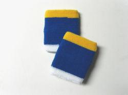 O logotipo personalizado Sport 100% algodão suor pulseiras banda