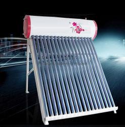 aquecedor solar de água de pressão inferior com tubo coletor solar Vácuo Zijin 300L SS304 -2b petroleiro de água e liga de alumínio à prova de corrosão Rack de suporte