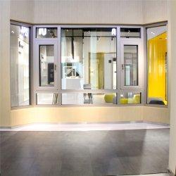 Finestra di alluminio di vetro della rottura termica con la struttura più stabile
