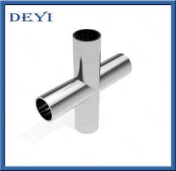 衛生316Lステンレス鋼の管付属品の磨かれた溶接溶接の十字