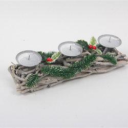 Ornamenten van Kerstmis van de Gift van het houtsnijwerk de Antieke Houten Houten