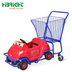 Supermarché enfants populaires Panier avec voiture jouet pour enfants