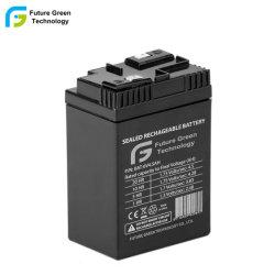 6V4.5ah AGM VRLA SLA verzegelde Batterij van het Veiligheidssysteem van het Lood de Zure