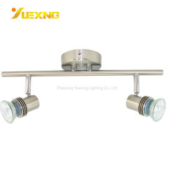 2*GU10 Max50W는 전시 스포트라이트 GU10 LED 반점 램프를 위한 주문 색깔 호텔 집 가구 빛 현대 LED 빛을 디자인했다