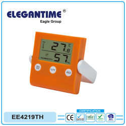 Thermomètre et hygromètre horloge petit écran LCD