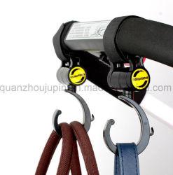 OEM Plastic Velcro verstelbare draaibare Baby Stroller Hook