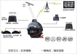 Transmissão de imagem 4G militar Single-Soldier Sistema de informações sem fio com um conjunto completo