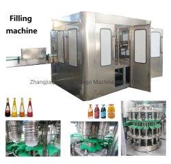 Автоматическая бутылку сока пить жидкость напитков герметичность упаковки заполнение механизма