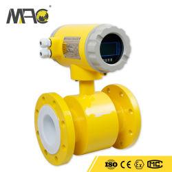 أجهزة قياس التدفق في مقياس التدفق الكهرومغناطيسي للأنابيب ذات القطر الكبير الشركة المصنعة
