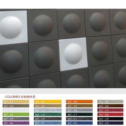 3D Decزخرفي لوحة عازلة للصوت Polyester الألياف Acoustic اللوحة الداخلية الجدار