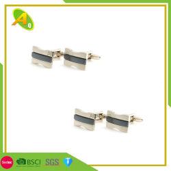 Манжеты Link флажка из нержавеющей стали Gold (022)
