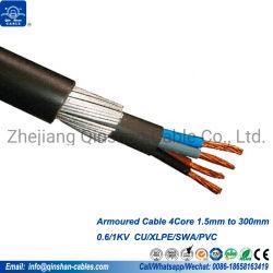 0.6/1kv 70mm 95mm 120mm Gepantserde Kabel 4core