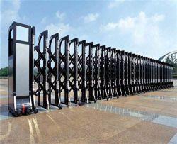 拡張可能なゲートのアルミニウムスライド・ゲートの防御フェンスのゲートの電気機密保護