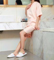 Terry SPA aus 100% Baumwolle Velour Cotton Star Hotel Bademantel