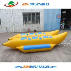 0,9 mm durables le bateau banane gonflable en PVC avec prix de gros