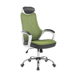 High Quality High Back Mesh Computer Office Desk Boss Leisure Chair Metal Base