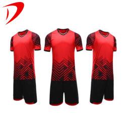 サッカーのジャージーの卸し売りチーム2021最も新しい上のサッカーのジャージジャージーはイギリスの顧客用フットボールのワイシャツメーカーのタイの品質のサッカーのジャージーのユニフォームの販売のためにセットした