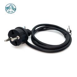 Высокое качество VDE утвердил резиновые водонепроницаемый разъем 2X1.0mm2 удлинительный шнур питания