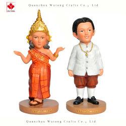 A Índia tradicional OEM Figurine Dons Tourist Loja de Artesanato de resina