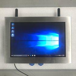 IP65 12 pouces écran tactile LCD de l'acier industriel tout en un PC avec Bluetooth, port série pour la machine de package