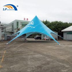 baldacchino su ordinazione esterno di alluminio della spiaggia della tenda dello schermo della stella di 16m