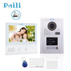 新しくスマートなビデオドアの電話防水カメラの屋外の鐘の通話装置のドアベルのビデオ