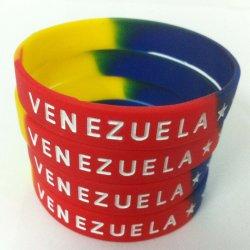 Braccialetto multicolore del silicone, gomma Mixed del Wristband di colore/Wristband del silicone