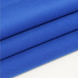 태양열 집열기 의류를 위한 뜨개질을 한 직물을 또는 안대기 또는 Hometextile 뜨개질을 하는 반대로 Pilling 두 배 측은 극지 양털 폴리에스테를 솔질했다