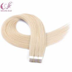 La máxima calidad duradera Remy suave mano atada la cinta perfecta Hair Extension