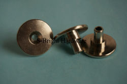 Europe Customized Nickel Plated Brass C36000 CNC Lathe Thumb Schroef (S-172)