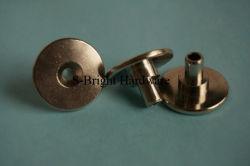 أوروبا مخصصة نحاس C36000 بيكل Plated Nickel برغي إبهامي C36000 CNC (S-172)