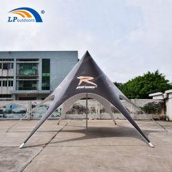 Im Freienstrand 10m Aluminium-Belüftung-Stern-Farbton-Zelt für Miete