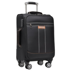 Cassa del vestito del carrello che tende i sacchetti aperti di corsa della parte anteriore del sacchetto del computer portatile