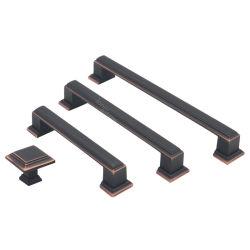 Liga de zinco manípulos de porta do armário do mobiliário Cabinet Puxadores