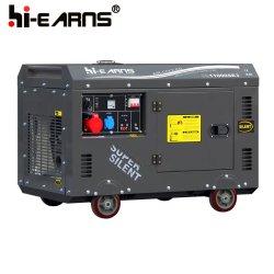 Euro Diesel van het Type van v- Certificaat Stille Generator Dg11000se3 (10kVA)