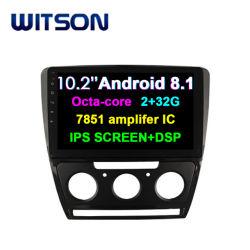 """Witson 10.2 """"フォルクスワーゲンSkoda Octavia (自動交互計算)のためのIinchスクリーンのアンドロイド8.1車DVD 2010-2014年"""
