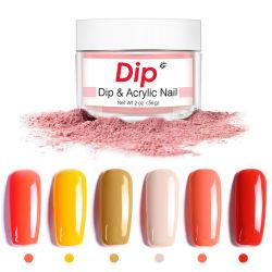 Glitter Nail Art Powder 2oz 56g Gel Polish DIP Powder Nägel