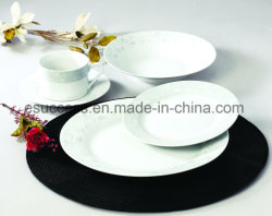 2019 Popuplar de Leverancier In het groot Cookware van China van het Vaatwerk van het Porselein van het Patroon 20PCS