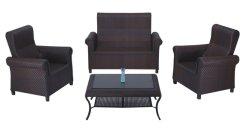 La conception ancienne antique Fashuin rotin à l'extérieur canapé salon de coiffure de meubles en aluminium
