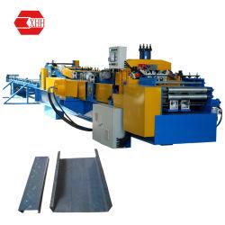 Z Type Purlin die Machines met pre-Slaat vormen en Pre-Cutting (Z150-300)