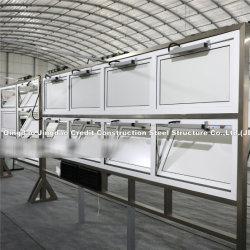 Structual 강철 구조물 건물을%s 강철 층계와 손잡이지주 제작을%s 문 그리고 Windows