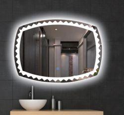 حمام فضى مستدير حديث LED بالجملة فساتين جدار مرآة منزل المنتجات