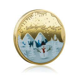 Logotipo personalizado Matel de doble cara Moneda para regalo de recuerdo