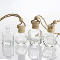Coche de forma de triángulo de 10ml botella de difusor de ventilación de la botella de difusor de perfume colgante coche