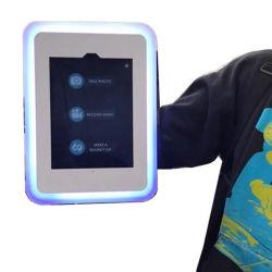 حاوية حاوية حاوية حاوية حاوية حاوية صغيرة لجهاز iPad Roaming Booth Shell للتصوير باستخدام جهاز التقاط الصور الذاتية المحمول باليد مورد الطرف