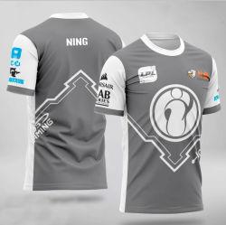 Kits de gros de vêtements de jeu uniformes imprimé E-Sports Jersey