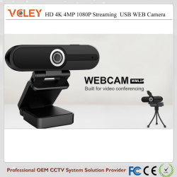 4K 8NP Ultra streaming HD Webcam câmera da Web para ensino on-line, transmissão em directo, vídeo conferência e bate-papo de vídeo, Gravação e Transmissão
